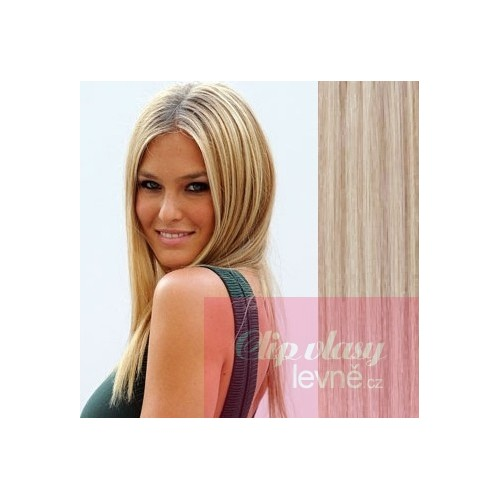 20 Inch 50cm Clip In Human Remy Hair Platinumlight Brown