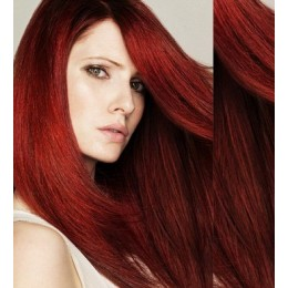 Clip in vlasy 63cm 100% lidské – REMY 120g – PLATINA/SVĚTLE HNĚDÁ