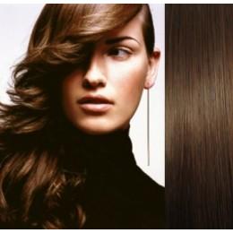 Vlasy pro metodu Pu Extension / TapeX / Tape Hair / Tape IN 50cm - přírodní blond