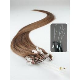 Clip in kudrnaté vlasy 100% lidské REMY 53cm - černá